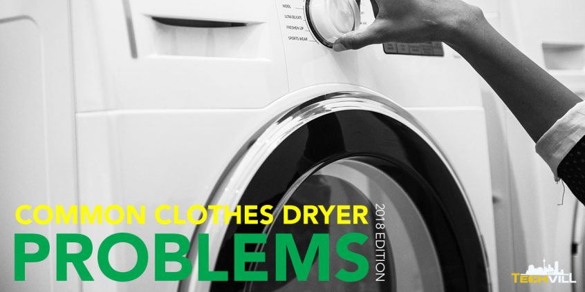 Common Problems With Clothes Dryers
